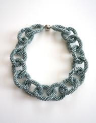 Hand crochet chain link 3