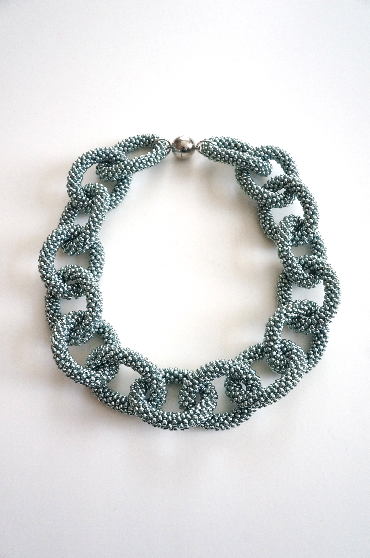 Chain-Link Necklace - Designedbynatasha
